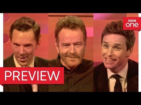 Bryan Cranston, Benedict Cumberbatch & Eddie Redmayne's dating video - The Graham Norton Show (видео)