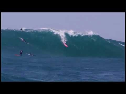 nic lamb - Nic Lamb (Santa Cruz, California, USA) enjoys a springtime air-drop on a late season swell at Maverick's, California on April 20, 2014. Video by Alexey Orlov...