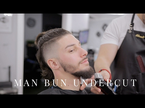 Learn how to do a Manbun mohawk...