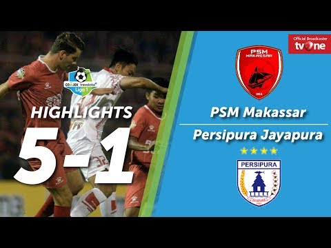 PSM Makassar VS Persipura Jayapura: 5-1 All Goals & Highlights