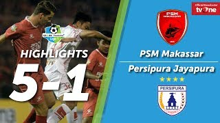 Video PSM Makassar VS Persipura Jayapura: 5-1 All Goals & Highlights MP3, 3GP, MP4, WEBM, AVI, FLV Oktober 2017