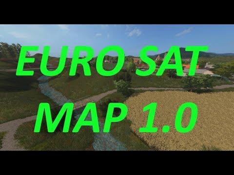 EURO SAT MAP 1.0