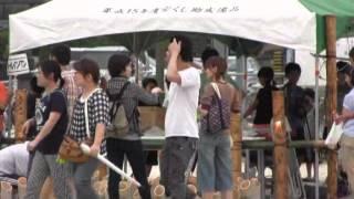 羽黒の夏祭り17・会場情景・するすみ広場