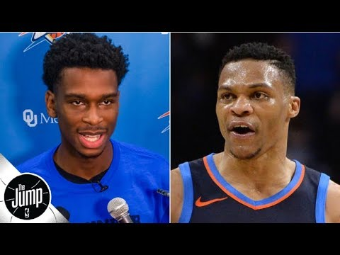 Video: Shai Gilgeous-Alexander's comments on Russell Westbrook were smart - Royce Young | The Jump