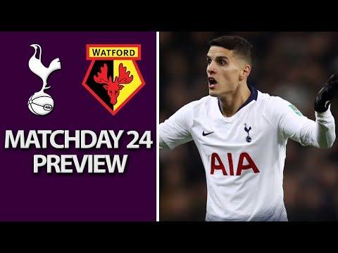 Video: Tottenham v. Watford | PREMIER LEAGUE MATCH PREVIEW | 1/30/19 | NBC Sports