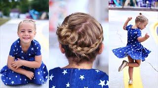 Crown Braid | Toddler Hairstyle | Cute Girls Hairstyles by Cute Girls Hairstyles