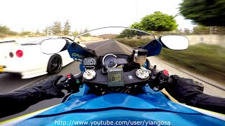 Download Video Suzuki GsxR 1000 VS Anything it Rolls MP3 3GP MP4