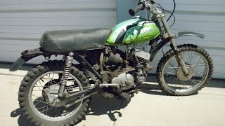 7. The $25 bike, Kawasaki MC1 M 90cc