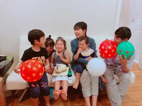 Sinh Nhật Cherry tròn 5 tuổi - Lý Hải Minh Hà - Thời lượng: 36 giây.