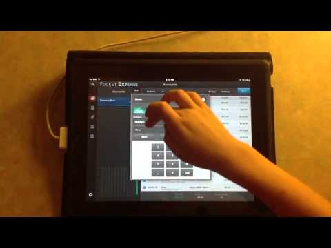 iPad How-to: Using Pocket Expenses App