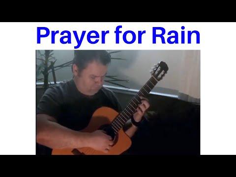 Prayer For Rain classical guitar