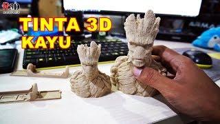 Video Tes Tinta 3D Printer Warna Kayu - Rajawali 3D MP3, 3GP, MP4, WEBM, AVI, FLV November 2018