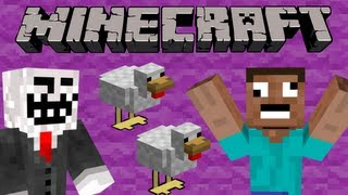 Most Annoying Way to Troll Your Friends - Minecraft
