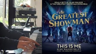 Video The Greatest Showman - This is Me (Piano Cover) MP3, 3GP, MP4, WEBM, AVI, FLV Agustus 2018