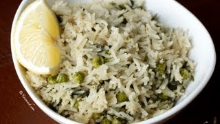 Cilantro Rice (Bariis Kabsaro Leh)  