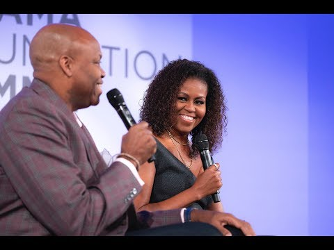 There's No Place Like Home: Michelle Obama and Craig Robinson in conversation with Isabel Wilkerson