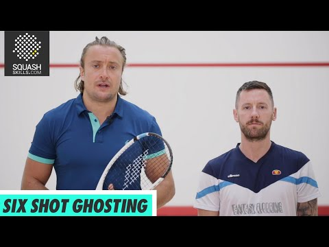 Squash tips: Solo practices with Joey Barrington - 6 shot ghosting