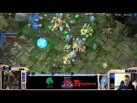 [HOTS] White-Ra [P] vs Zervas [Z] FP VOD - May 7 2013 - PvZ [HD] RUS