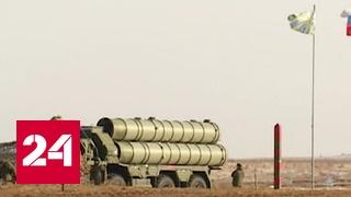 """Российские военные опробовали новые комплексы """"Триумф"""" и """"Панцирь"""" на полигоне под Астраханью"""