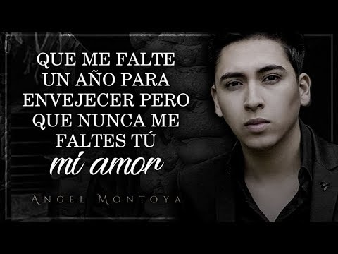 (letra) ¨no Me Faltes TÚ¨ - Angel Montoya (lyric Video)