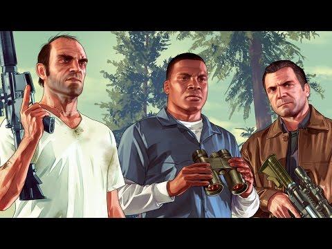 Grand Theft Auto V - GTA 5 обзор