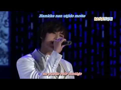 SS501 - Because I'm Stupid Live [Sub Español + Karaoke] Mp3