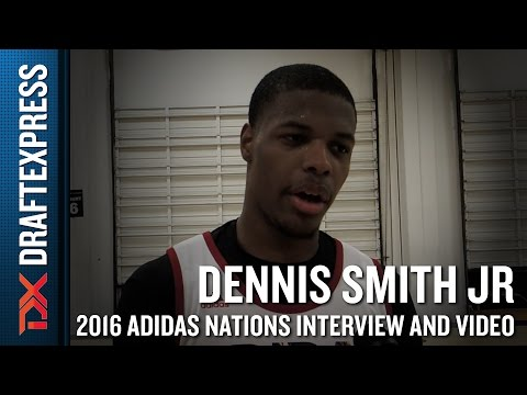 Dennis Smith Interview and Highlights from 2016 Adidas Nations