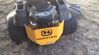 5. HUSTLER ZERO TURN MOWER REVIEW! 60 inch KOHLER 26 HORSE!