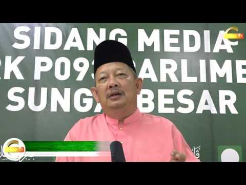 Perutusan Ramadhan Yb Dr. Abdul Rani Osman Calon PAS PRK Sungai Besar