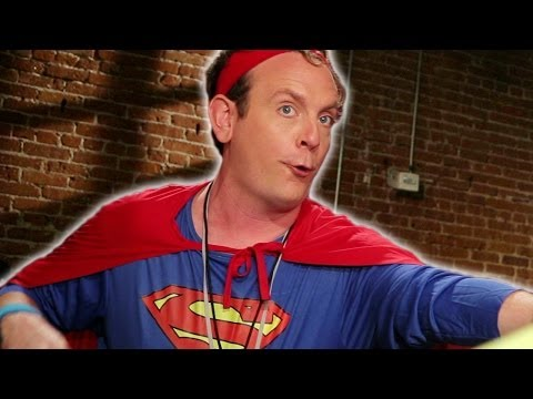 MAN OF STEEL Fitness Tips Lesson: EP 107: Hollywood Acting Studio