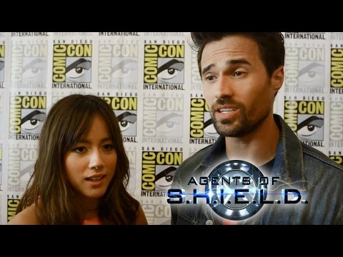 ward - Watch our interview with Clark Gregg ▻ http://bit.ly/1t6I0E6 Subscribe Now! ▻ http://bit.ly/SubClevverMovies Erin Robinson caught up with Marvel Agents of SHIELD's Brett Dalton and Chloe...