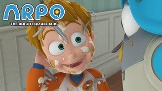 Video ARPO The Robot For All Kids - Prank War | Compilation | Cartoon for Kids MP3, 3GP, MP4, WEBM, AVI, FLV Maret 2019