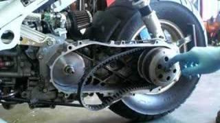 7. Honda Ruckus Variator Installation