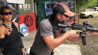 Keanu Reeves Training with Taran for John Wick: Chapter 3 - Parabellum