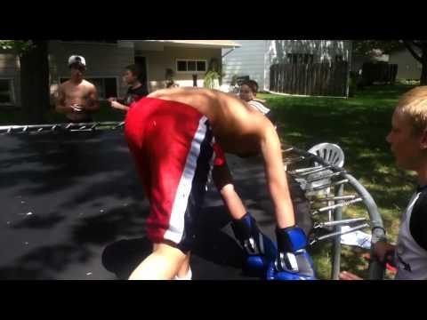 Backyard Boxing (Brad Vs. Jiggle Puff First Fight)