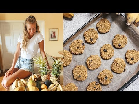 Rainy Day in Hawaii (What I Ate) +  Easy Breakfast Cookie Recipe
