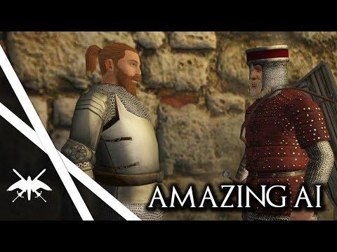 Amazing Warband AI Improvement Mod! - Mount & Blade Warband: Brainy Bots (видео)