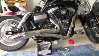 9. 2012 Harley Davidson Dyna Fat Bob stage one upgrade