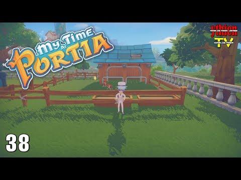 My Time At Portia 38 - Làm Chuồng Gia Súc - Thời lượng: 38 phút.