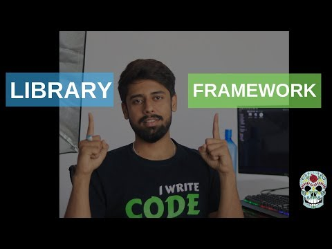 What is library & framework? (Hindi)