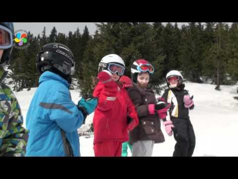 Nejmenší lyžaři jsou na Moravské boudě