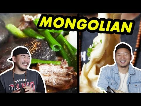 WHAT IS REAL MONGOLIAN FOOD? w/ Mongolian Person! | Fung Bros