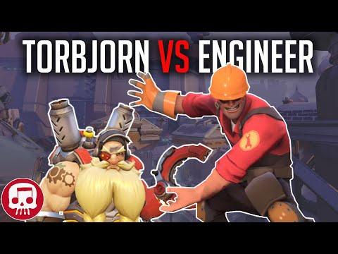 Torbjorn vs. Engineer Rap Battle by Jt Music