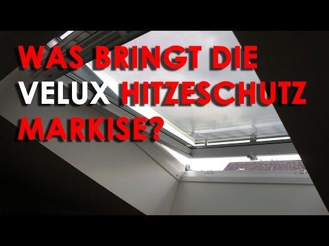 Im Test: VELUX Hitzeschutz-Markise
