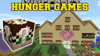 Minecraft: JEN'S NEW HOUSE HUNGER GAMES - Lucky Block Mod - Modded Mini-Game