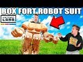 BOX FORT ROBOT SUIT!! 📦🤖 Nintendo LABO Box Fort & Gameplay