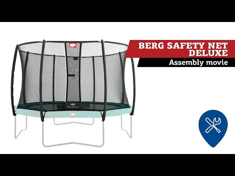 BERG Safety Net Deluxe - Grand Champion | Montage veiligheidsnet
