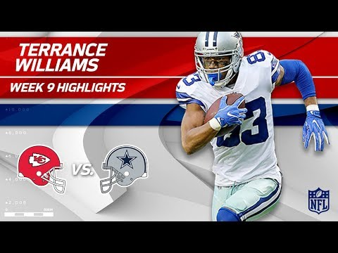 Video: Terrance Williams' 9 Catches for 141 Yards vs. KC! | Chiefs vs. Cowboys | Wk 9 Player Highlights