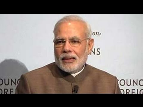 it - No country can exist on its own, we have to take other countries along, the PM said at the Council on Foreign Relations in New York. Watch more videos: http://www.ndtv.com/video?yt.