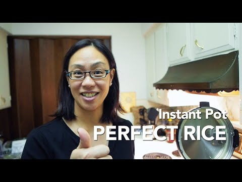 Instant Pot Pressure Cooker Perfect Rice